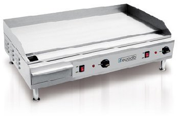 Eurodib SFE04910 Heavy Duty Electric Countertop Griddle with 0.5