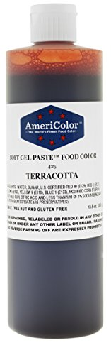 TERRACOTTA 13.5 Ounce Soft Gel Paste Food Color
