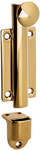- Baldwin 0345003 Dutch Door Bolt, Lifetime Brass