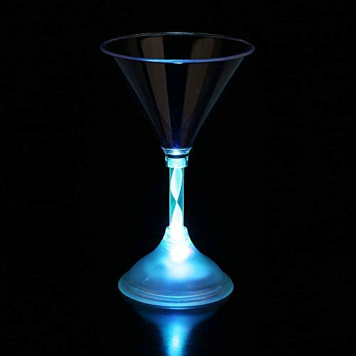 Glow Martini Glasses - Fun Central I478 LED Light Up