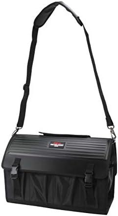 SK11(エスケー11) ツールキャリーバッグ W440×H280×D250 STC-HP-BK フタ付き ブラック
