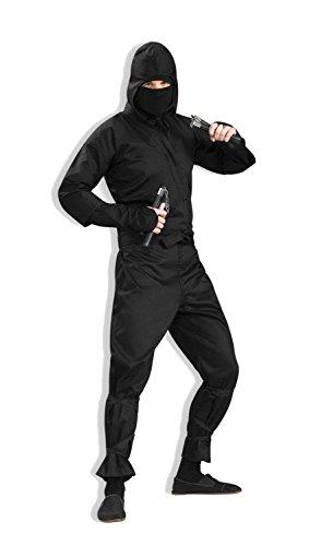 Ninja Halloween Costumes For Men (Forum Novelties Men's Ninja Costume, X-Large, Black)