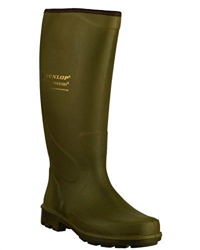 Dunlop - Green - Pull On Wellingtons - Size 39 40 41 42 43 44 verde