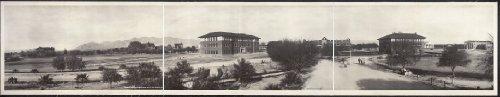 HistoricalFindings Photo: 1909 Panoramic: University of Arizona, - University Photo Panoramic