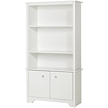 Amazon Com Ameriwood Home Mercer Storage Bookcase With