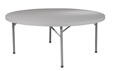 Office Star Resin Multipurpose Round Table  71 Inch
