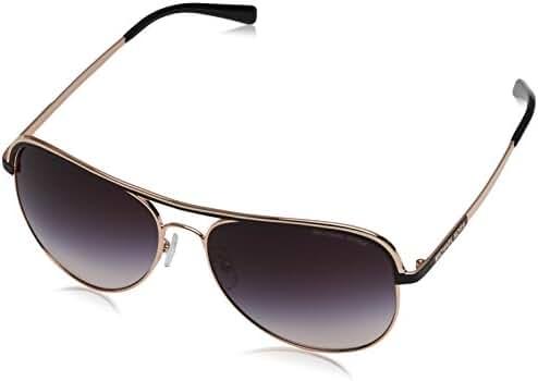 Michael Kors 1012 110836 Rose Gold Vivianna I Aviator Sunglasses Lens Category