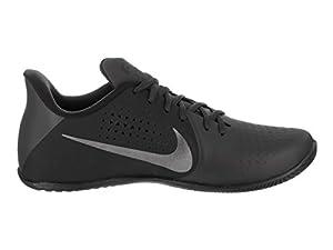 NIKE Men's Air Behold Low NBK Anthracite/MTLC/Dark Grey Basketball Shoe 8.5 Men US