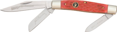 Jigged Red Stockman (Browning Red Stainless Blade, 3 7/8 in. Closed)