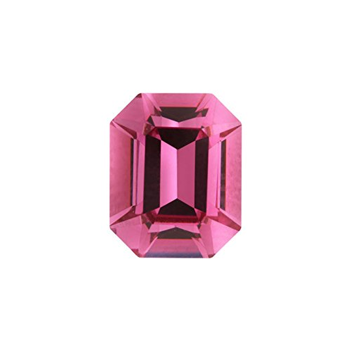 (Swarovski Crystal, 4600 Octagon Fancy Stone 10x8mm, 1 Piece, Rose F)