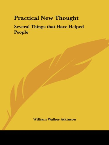 Thoughts Are Things Pdf