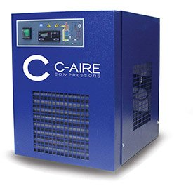 C-AIRE AC CRD-50 1/115 Refrigerated Air Dryer, 50 CFM, 115V, 1PH (Refrigerated Dryer Cfm)