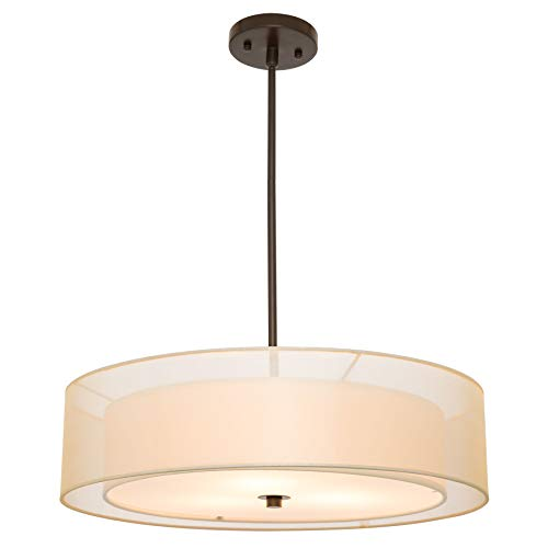 Drum Light Fixtures Pendants in US - 3