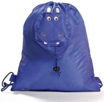 DISOK - Mochila Plegable Animals Azul - Mochilas, Bolsas Escolares, Guarderías, Regalos Niños Navidades
