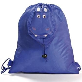 DISOK - Mochila Plegable Animals Azul - Mochilas, Bolsas Escolares, Guarderías, Regalos Baratos para Niños Navidades: Amazon.es: Hogar