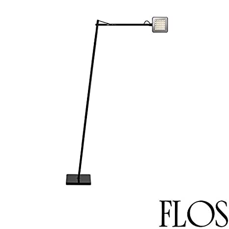 flos kelvin f LED lámpara de pie Negro f3305030 Regulador ...