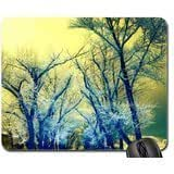 Romantic Morning Mouse Pad, Mousepad (Flowers Mouse Pad)