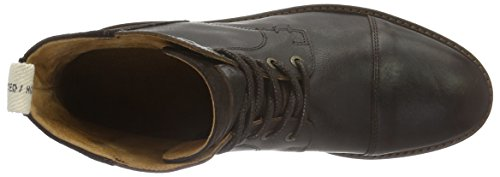 Selected Shntravis Lace Boot, Stivali Corti Uomo Marrone (Demitasse)
