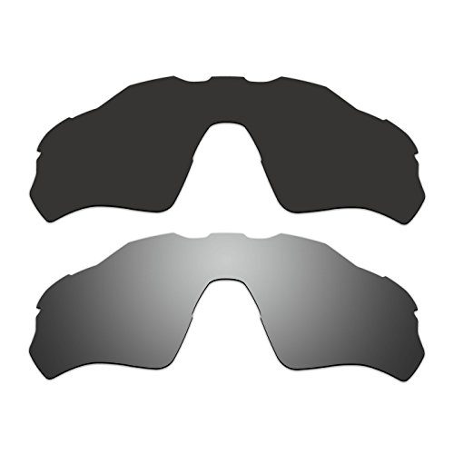 0d32cb116d 2 Pair ACOMPATIBLE Replacement Polarized Vented Lenses for Oakley Radar EV  XS Path (Youth Fit) Sunglasses OJ9001 Pack P5 - Buy Online in Oman.