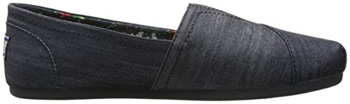 Denim Plush from Flat Skechers Women's BOBS Ww6O4WYqz