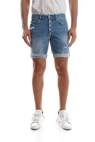 Up334 Uomo E Dondup Blue Bermuda Denim Medium Rolly Shorts 65zqHqwPx