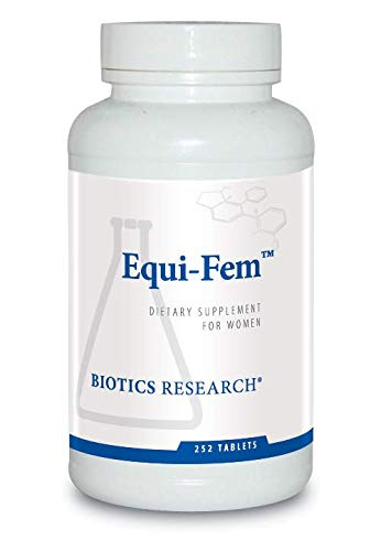 Biotics Research Equi-FemTM- Multi-Vitamin/Mineral Supplement for Women. High Dose Multi for Pre-Menstrual Support. Black Cohosh. Dong Quai. Digestive Enzyme Support (252)