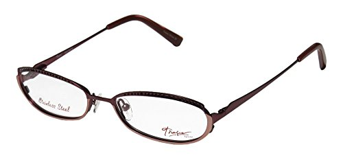 Thalia Encanto Womens/Ladies Prescription Ready Trusted Luxury Brand Designer Full-rim Spring Hinges Eyeglasses/Spectacles (49-16-130, Bordeaux / - Sunglases Gucci