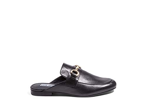- Steve Madden Women's Kandi Black Leather Casual 8 US