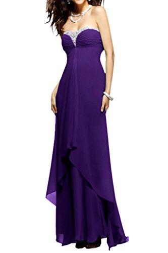 Ivydressing -  Vestito  - linea ad a - Donna viola 64