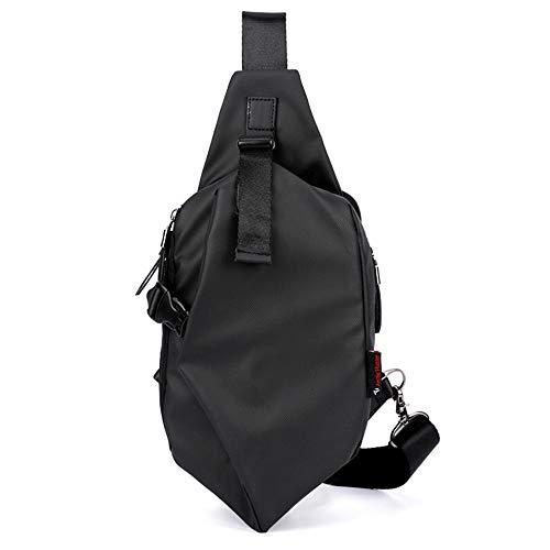 Senderismo Antirrobo Al La De Gscshoe Negro Hombres Para Computadora Aire Carga Bolsos Bolso Pequeño Usb Paquete Multifuncional color Mochila Libre OWqB7wCv