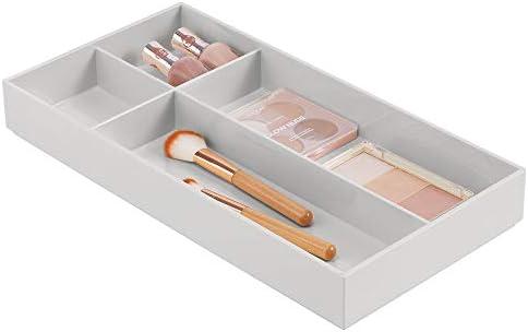 mDesign Organizador de cosméticos – Prácticas cajas de maquillaje ...