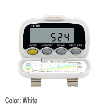 Digiwalker Pedometer (Pedusa PE-105 TriAxis Multi-Function Pocket Pedometer (White))