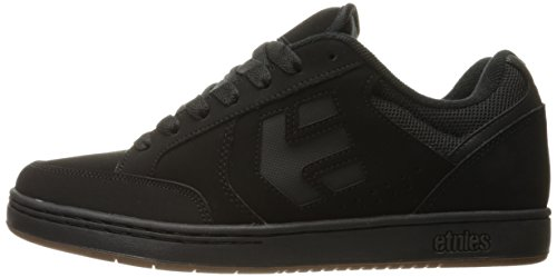 Etnies Swivel, Color: Black/Black/Gum, Size: 38 Eu / 6 Us / 5 Uk