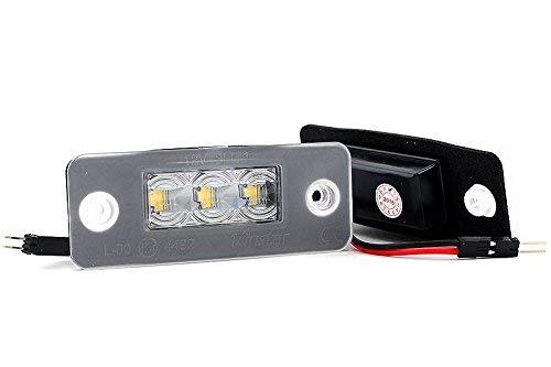 LED matr/ícula/con Autorizaci/ón