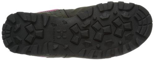 Haglöfs HAGLÖFS VERTIGO II Q GT 492070 - Zapatillas de montaña de cuero para mujer Schwarz (MAGNETITE 2AT)