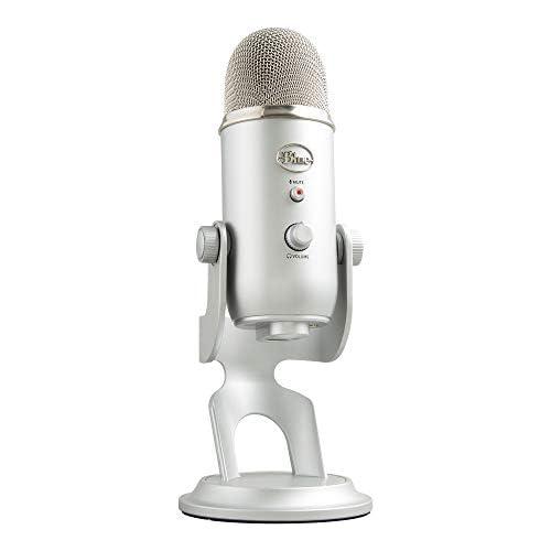 chollos oferta descuentos barato Blue Micrófono USB profesional Yeti para grabación streaming podcasting radiodifusión gaming voz en off y más multipatrón Plug n Play en PC y Mac Plata