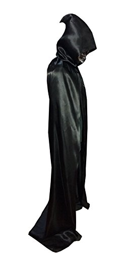 Shapenty Adult Christmas Halloween Party Devil Death Hooded Cloak Vampire Role Play Costumes Capes (X - Large, (Witch Costume Ideas Adults)
