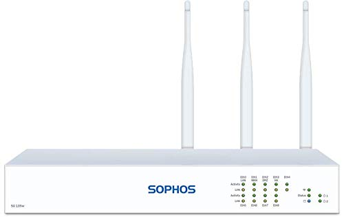 Sophos | SS1D33SUPK | SG 135w Rev.3 (Revision 3) TotalProtect Plus 24x7, 3-Year (EU/UK/US/JP Power Cord) Network VPN Firewall