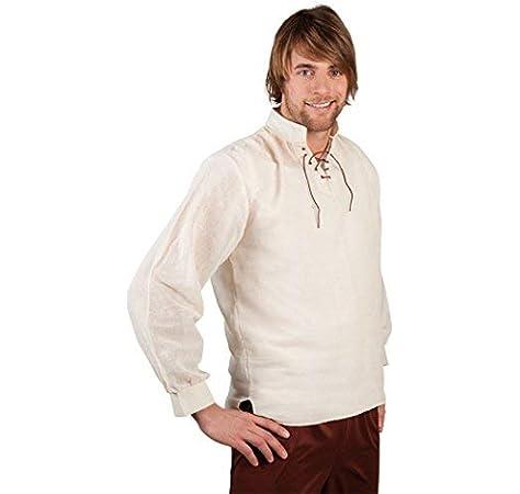 Desconocido Camisa medieval para hombre: Amazon.es: Juguetes y juegos