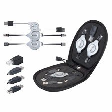 Belkin 7-in-1 Retractable Cable Travel Pack (BLKF3X1724)
