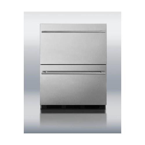 Summit Automatic Refrigerator Commercial - SP6DS2D7ADA 24
