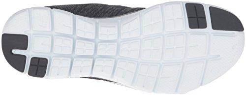 Skechers Flex Appeal 2.0, Scarpe Sportive Outdoor Donna, Nero (Black/White), 38.5 EU