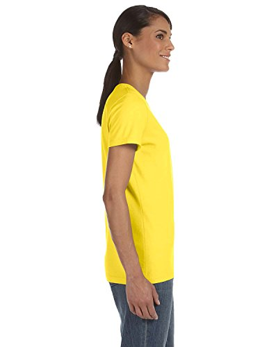 Donna Loom T shirt Fruit Giallo Asimmetrico The Of xw641q7v