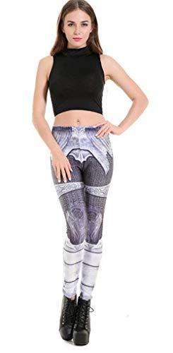 Playa Las Jeggings De Bleached Moda Treggings Casuales Medias Leggings Verano 2 Elásticos Mujeres Gray Pantalones wfYYPUqI