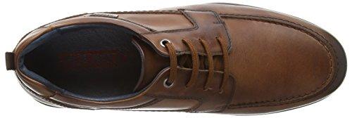4038 San brown Hombre Cordones Lorenzo Derby Con Pikolinos Zapatos Marrón Cuero SqxwE1SHd