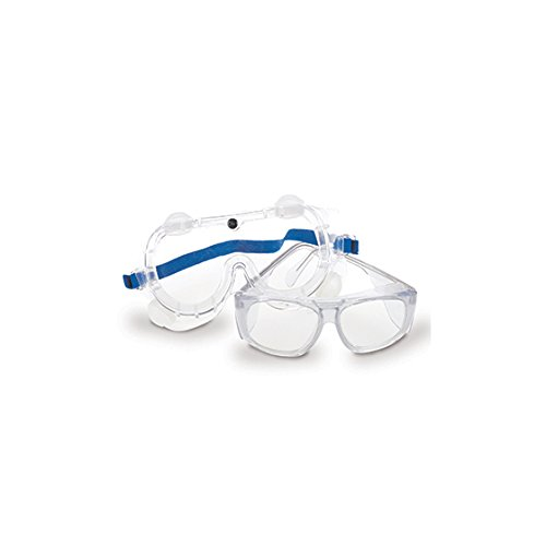 Medegen Medical Products 208- Safety Glasses, Clear (Pack of 10)
