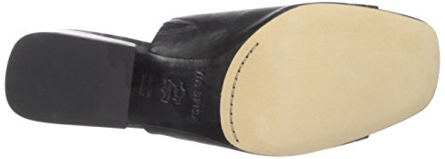 Via Spiga Women's Porter Slide Sandal Black Leather clearance perfect free shipping deals get authentic cheap online wiki cheap online free shipping manchester great sale qXrHqHR