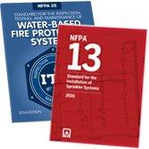 2016 NFPA 13 and 2014 NFPA 25 Set
