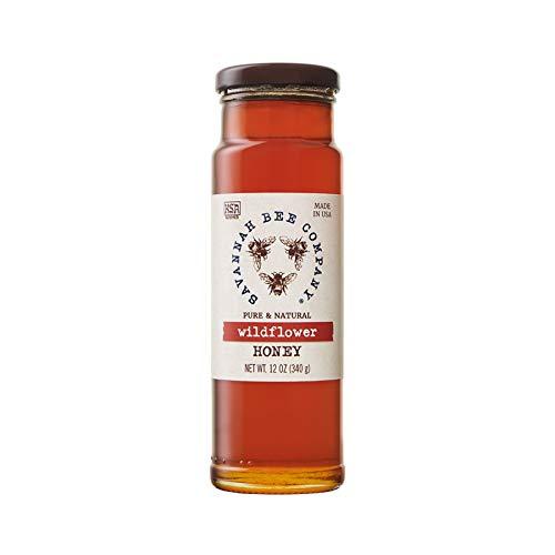Savannah Bee Company Wildflower Honey 12oz ()