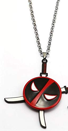 Algol - Deadpool 2 Keychain Kolye Rotate Pendant Necklace ...